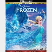 Frozen 4K iTunes [ FLASH DELIVERY ⚡ ] [ports to MA]