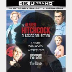 The Alfred Hitchcock Classics Collection 4K Movies Anywhere [ FLASH DELIVERY ⚡ ]