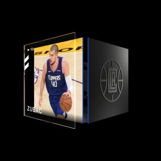 IVICA ZUBAC Dunk Base Set (Series 2) Common #5673/15000
