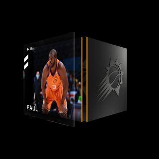 CHRIS PAUL Jump Shot Base Set (Series 2) Common #3481/35000+