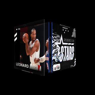 KAWHI LEONARD Dunk Seeing Stars (Series 2) Common #3297/10000