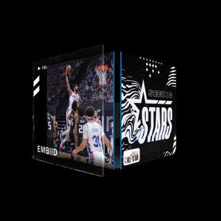 JOEL EMBIID Dunk Seeing Stars (Series 2) Common #5624/10000
