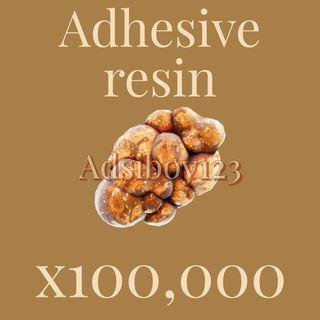 Adhesive Resin | 100000x