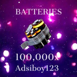 Batteries | 100000x