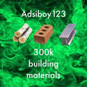 Bundle | 300k building materials