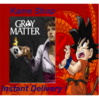 Gray Matter (PC/Steam) Full Game GLOBAL