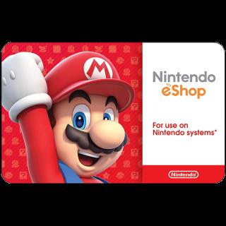 $20.00 Nintendo eShop - INSTANT Release