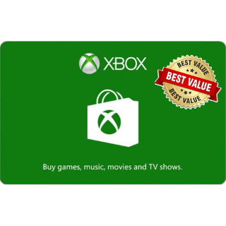 $25.00 Xbox Live - Instant Delivery