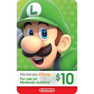 $10.00 Nintendo eShop [INSTANT delivery!!]