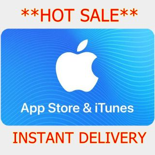 $25.00 iTunes **INSTANT DELIVERY**