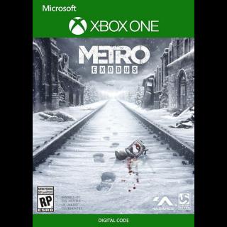 Metro Exodus (Xbox One) Live Key GLOBAL