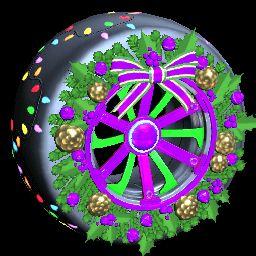 Christmas Wreath | Purple