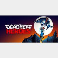 Deadbeat Heroes Steam Key Global