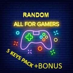 Steam Random Key x5 + Bonus