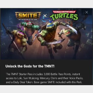 SMITE x TMNT Starter Pass DLC - Xbox One