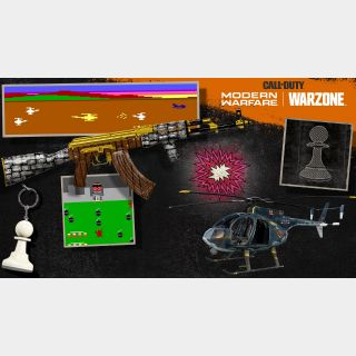 Call of Duty: Warzone Exclusive Rewards - PS4/PC/Xbox