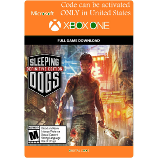[USA]Sleeping Dog: Definitive Edition - Xbox One