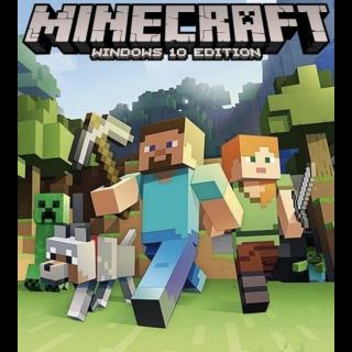 Minecraft Windows 10 Edition