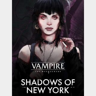 Vampire: The Masquerade - Shadows of New York Global Instant delivery