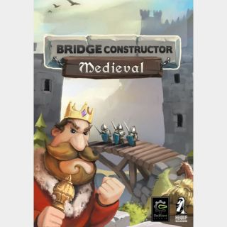 Bridge Constructor: Medieval BULK x4 Keys Global Instant