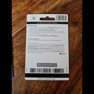 £50.00 Steam Wallet Card