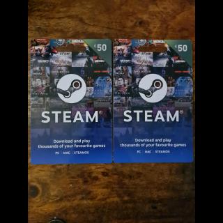 £50.00 Steam