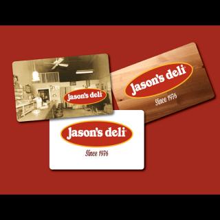 $100.00 Jason's Deli EgiftCard(Instand Delivery)