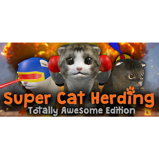 Super Cat Herding: Totally Awesome Edition | Steam Global Key | Instant Delivery | *Supports HTC Vive*