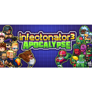 Infectonator 3: Apocalypse | Global Steam Key | Instant Delivery |