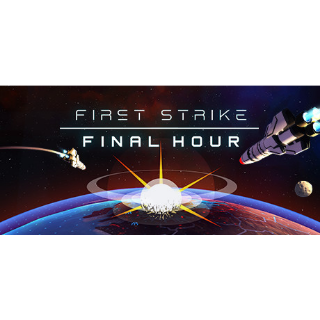 FIRST STRIKE FINAL HOUR   Steam Global Key   Instant Delivery  