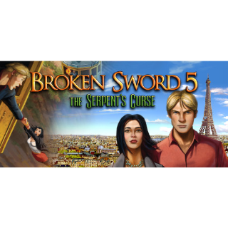 Broken Sword 5 - the Serpent's Curse | Steam Global Key | Instant Delivery |