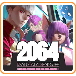 2064: Read Only Memories INTEGRAL | Nintendo Switch EU Key | Instant Delivery |