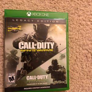 Call of Duty: Infinite Warfare Legacy Edition- Xbox One