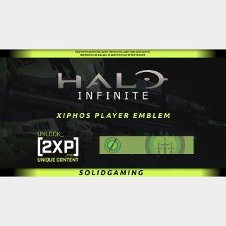 Halo Infinite Xiphos Player Emblem + 2XP 30 mins   Xbox   Windows 10   Best Price   !SGKeys  Halowaypoint