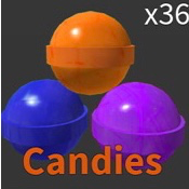 Collectibles   Roblox  MM2 5x Candy