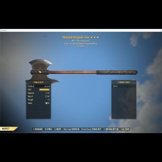 Weapon   Bloodied Grognak's Axe