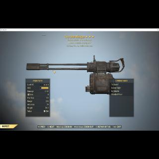 Weapon   Two Shot Exp Minigun