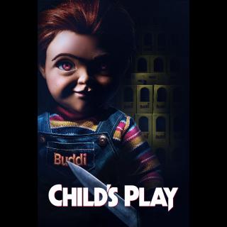 Child's Play HD Digital Movie Code!