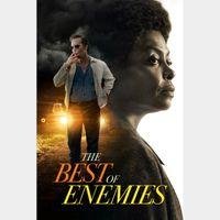 The Best of Enemies  HD Digital Movie Code!   **ITUNES ONLY***