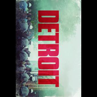 Detroit HD Digital Movie Code