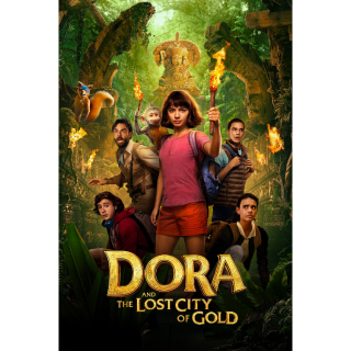 Dora and the Lost City of Gold HD Digital Movie Code!