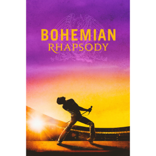 Bohemian Rhapsody HD Digital Movie Code!