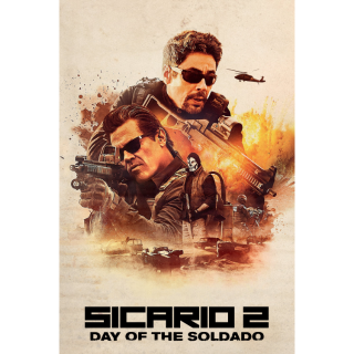 Sicario: Day of the Soldado HD Digital Movie Code!
