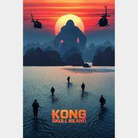 Kong: Skull Island FULL HD DIGITAL MOVIE CODE!!