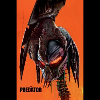 The Predator 4K UHD Digital Movie Code! ACTUAL CODE NOT INSTAWATCH!
