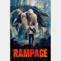 Rampage  FULL HD DIGITAL MOVIE CODE!!
