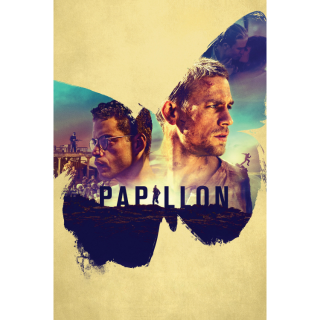 Papillon HD Digital Movie Code!