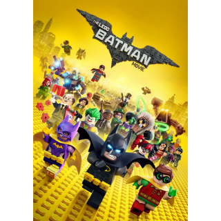 The Lego Batman Movie HD Digital Movie Code!