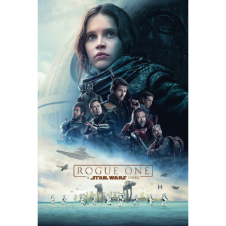 Rogue One: A Star Wars Story HD Digital Movie Code!