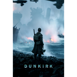 Dunkirk HD Digital Movie Code!